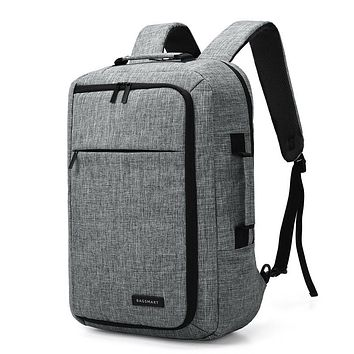 BAGSMART Laptop Backpack Convertible Briefcase 2-in-1 Business Travel Luggage Carrier Water-Resistant