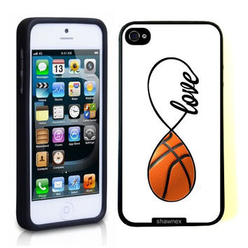 Shop Basketball iPhone Case on Wanelo