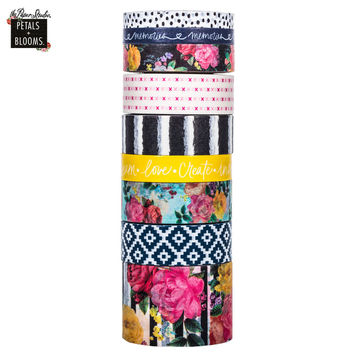 Floral Washi Tape Tube | Hobby Lobby | 1391705