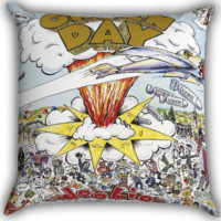 Green Day Dookie Zippered Pillows  Covers 16x16, 18x18, 20x20 Inches