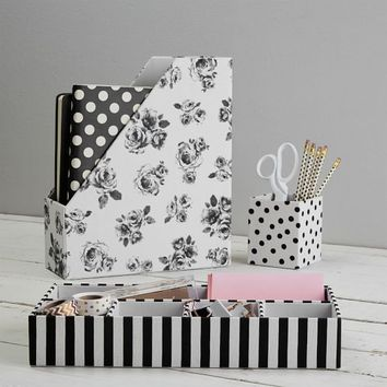 The Emily & Meritt Fabric Desk Accessories Set
