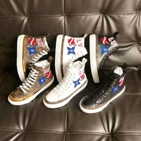 Louis Vuitton Digital Exclusive LV Black Heart Sneaker Boot