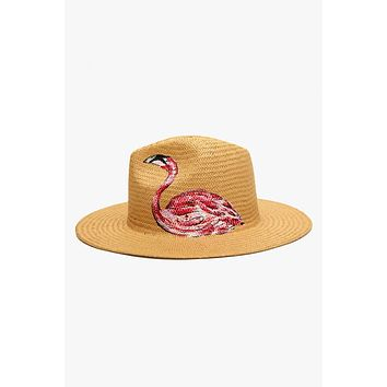 Rosa Panama Hat - Flamingo