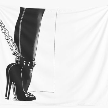 'BDSM love - standard pet equipment' Wall Tapestry by bdsmlove