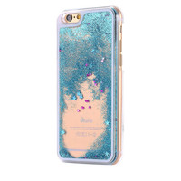 Floating Glitters 3D iPhone Case