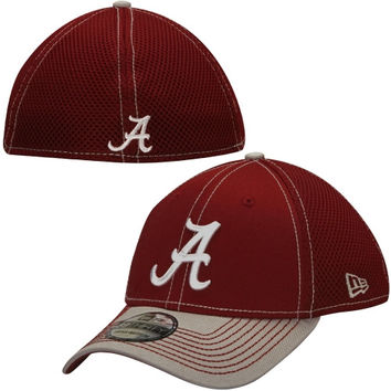 Alabama Crimson Tide New Era 2-Tone Neo 39THIRTY Flex Hat – Crimson