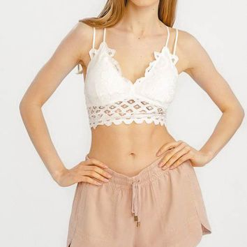 Love Affair Bralette - Ivory