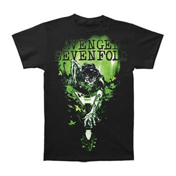 Avenged Sevenfold Men's  I Wanna Rot Slim Fit T-shirt Black
