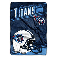 Tennessee Titans NFL Stagger Oversized Micro Raschel (62in x 90in)