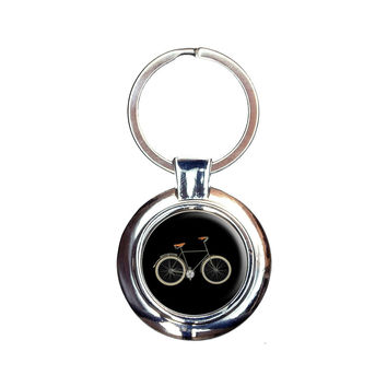 Fixed Gear Bicycle Keychain