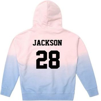 KPOP GOT7 Gradient Cap woman and man Hoodie Sweatshirt Unisex Jackson JB JR Bambam Sweatershirt New