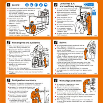 Poster - Engine Room Safety