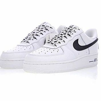 "ONETOW NBA x Nike Air Force 1 AF1 ""NBA White&Black�23511-405"