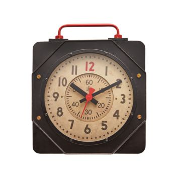 Engine Room Wall Clock -- 21-in