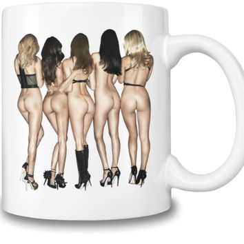 Hot Booty Babes Coffee Mug