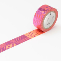 mt fab Hot Stamp Washi Tape Single Hand Pattern