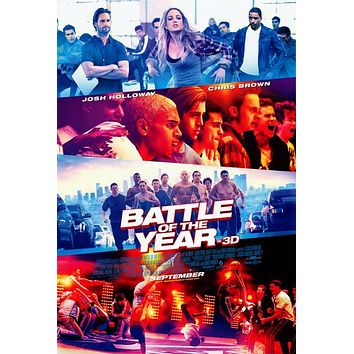 Battle of the Year 3D 27x40 Movie Poster (2013)