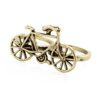 Chain of Command Ring | Mod Retro Vintage Rings | ModCloth.com