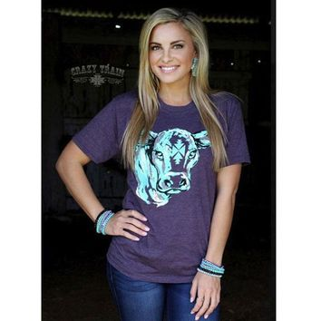 Conway Calf Tee by Crazy Train