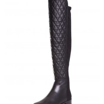 Stuart Weitzman Quiltboot Over The Knee Flat Tall Boot