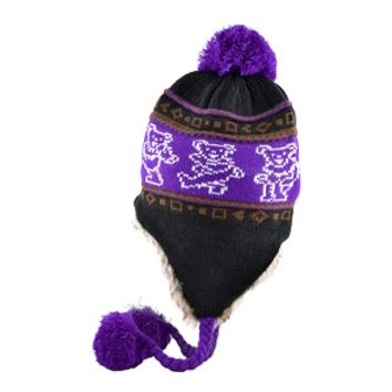 Grateful Dead Dancing Bears Winter Hat | Sunshine Daydream Hippie Shop