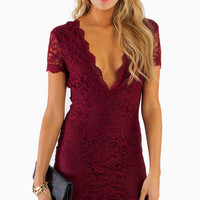 Vdara Lace Bodycon Dress $40