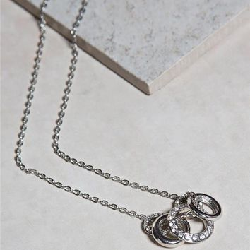 Multi Ring Necklace