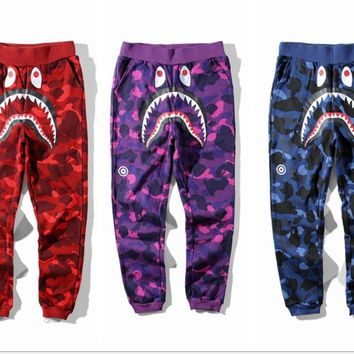 Camo A Bathing Ape Sweatpants