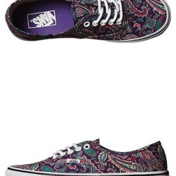 VANS WOMENS AUTHENTIC SHOE - VIOLET TRUE WHITE
