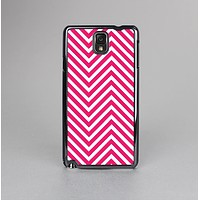 The White & Pink Sharp Chevron Pattern Skin-Sert Case for the Samsung Galaxy Note 3