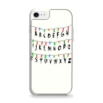 Stranger Things Alphabets iPhone 7 | iPhone 7 Plus Case