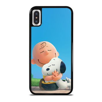 SNOOPY AND CHARLIE BROWN THE PEANUTS iPhone X Case Cover
