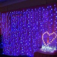 CIS-84018 Lovely Home Decoration Blue LED String Lamp with 3Mx6M 600 Leds - AC220V