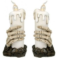 Skeleton Hand Candle Lights | Attitude Clothing