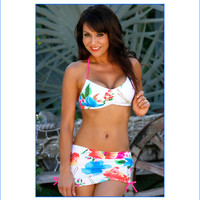 Summer Blossom Skirted Bikini