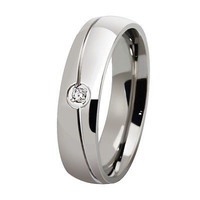 AMAZING 0.15CT WHITE ROUND 925 STERLING SILVER ENGAGEMENT AND WEDDING BAND