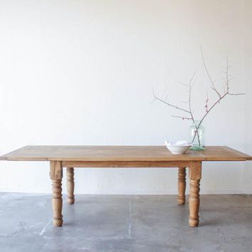 Big & Fabulous Dining Table