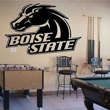 NCAA  Boise State Broncos Logo Team Wall Art Sticker Decal (S086)
