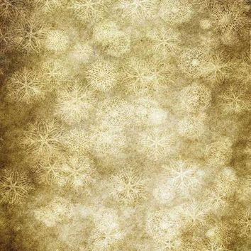PRINTED SNOWFLAKE CHRISTMAS HOLIDAY OLD MASTER TITANIUM CLOTH BACKDROP - 10x20 - LCTC817 - LAST CALL