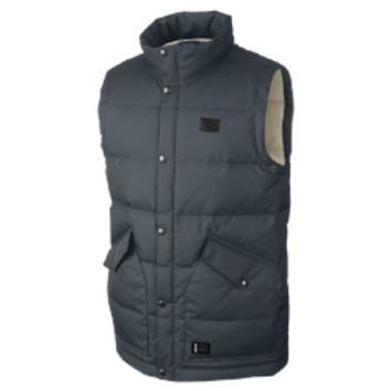 Nike SB 550 Down Men's Vest Size Medium (Grey)