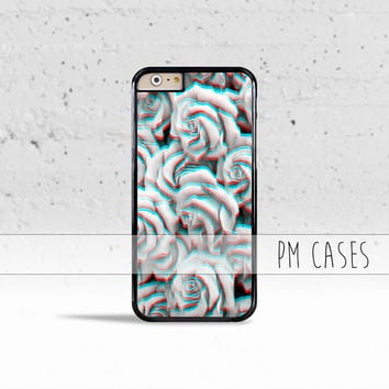 Trippy 3D Roses Case Cover for Apple iPhone 4 4s 5 5s 5c 6 6s SE Plus & iPod Touch