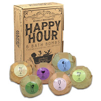 HAPPY HOUR Party Girl Bath Bombs Gift Set