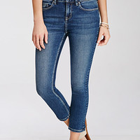 Low-Rise Ankle Jeans