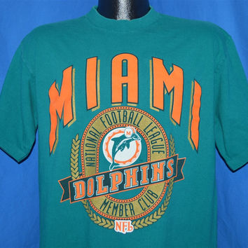 90s Miami Dolphins NFL Football t-shirt Large