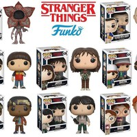 Funko Pop TV Stranger Things: 13318.21.22.23.24.25.27.47 Set of 8