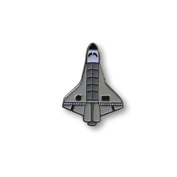 PRE-ORDER: ROCKET Pin - Enamel Pin, Lapel pin.