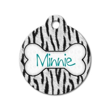 Zebra Stripes  - Pattern Pet Tags