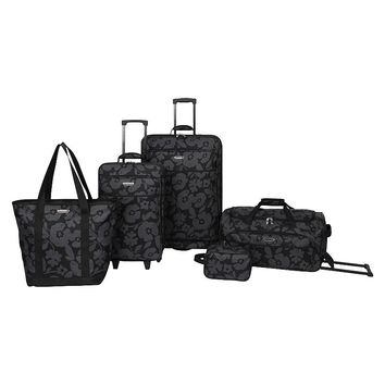 Prodigy Luggage, Mayfair 5-piece Expandable Spinner Luggage Set
