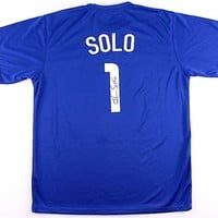 Hope Solo Signed Autographed Team USA Soccer Jersey (JSA COA)