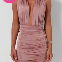 Arianna Rose Slinky Multiway Dress | Pink Boutique